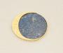 """Brosje og anheng """"Eclipse"""" i gult gull med Lapis lazuli."""