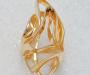 """Ring smidd i gult gull modell """"Labyrint""""."""